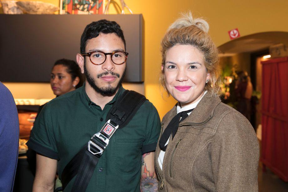 Liza Dornelles e Vinicius Aquino