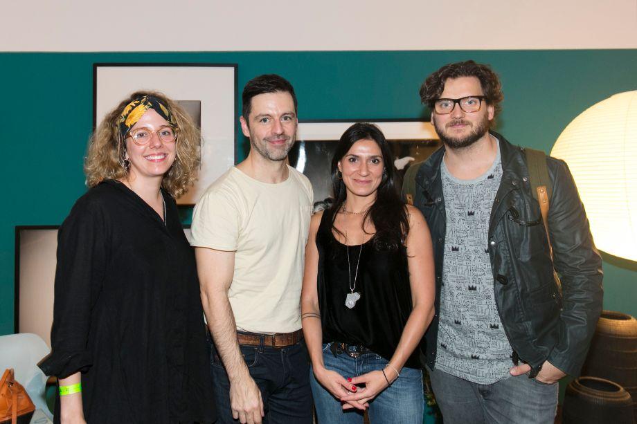 Isabel Dezon, Maurício Arruda, Lais Delbianco e Jotta