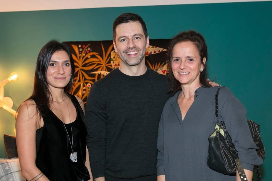 Lais Delbianco, Maurício Arruda e Patricia Quentel