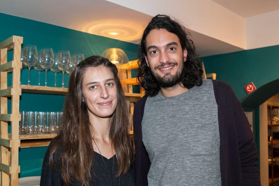 Antonia Almeida e Fabio Esteves