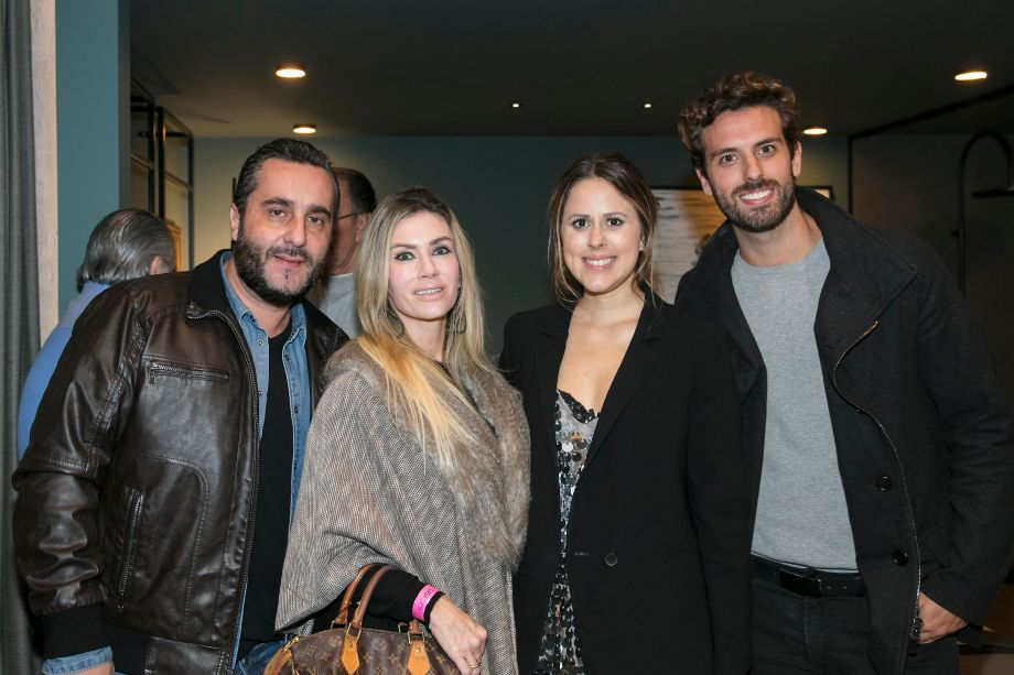 Jonas Barufi, Fernanda Barufi, Kika Mattos e André Bacalov