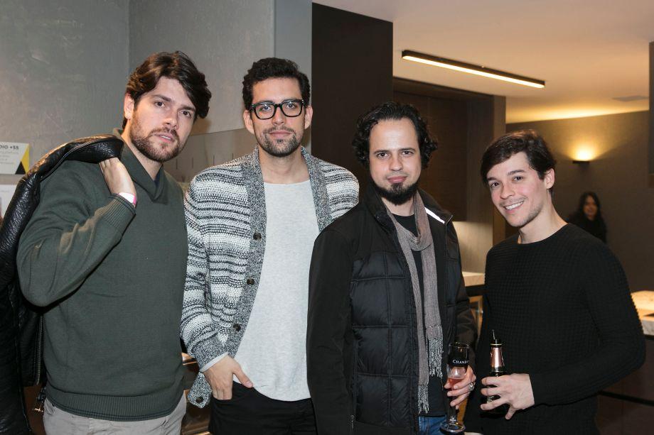 Jorge Alexandre Amaro, Theo Varela Albuquerque, Marco Antonio Rocha e Danilo Moraes