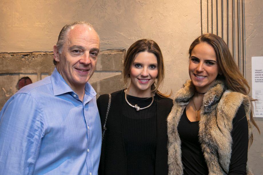 Raul Penteado, Marcela Penteado e Fernanda Di Nardo