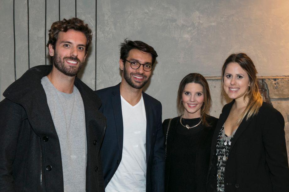 André Bacalov, Nildo José, Marcela Penteado e Kika Mattos