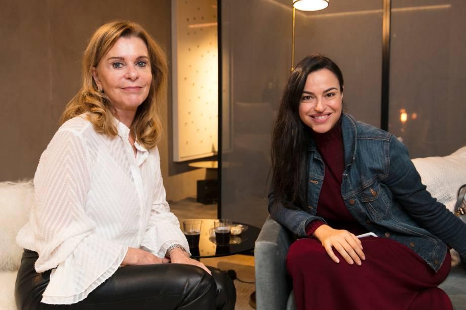 Diva Helo e Renata Mata Pires