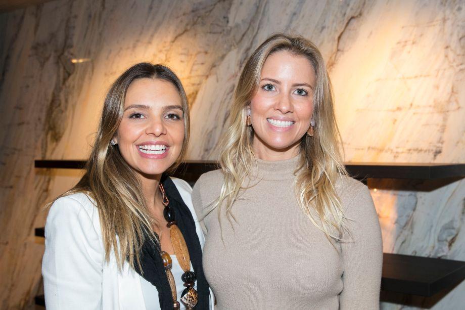 Juliana Zuppardo e Carolina Oliveira