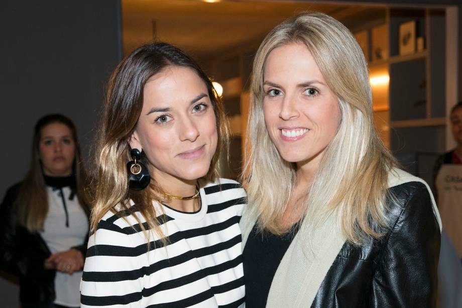 Patrícia Garcez e Antonia Fonseca