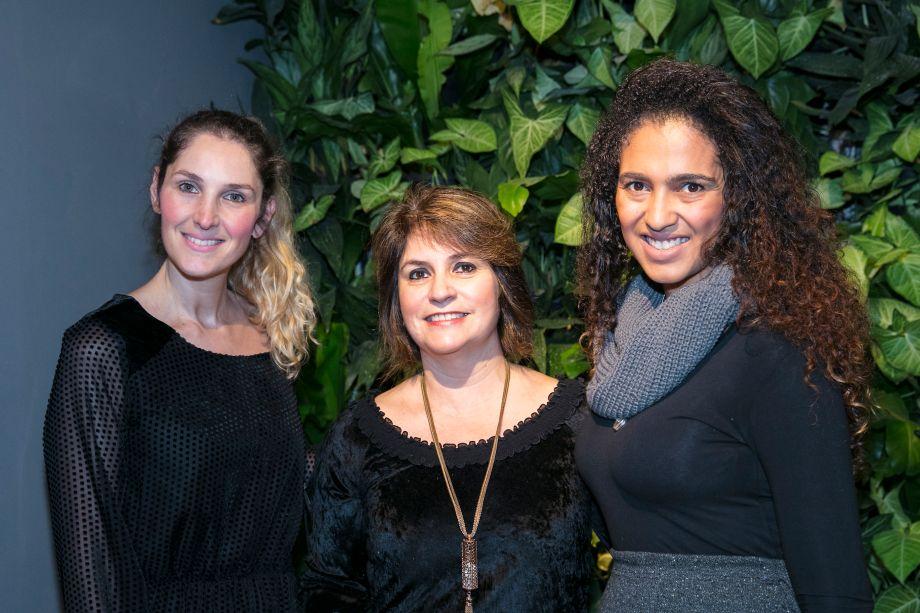 Milena Salton, Tania Mesquita e Thais Barreto