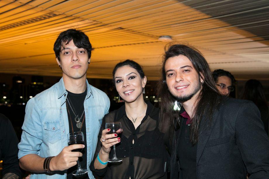 Guilherme Silva Pinto, Helen Galan e William Marques Candido