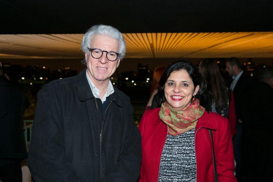 Roberto Amadio e Lucia França