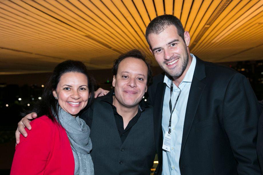 Daniela Erreiro, Felipe Putz e Paulo Meirelles