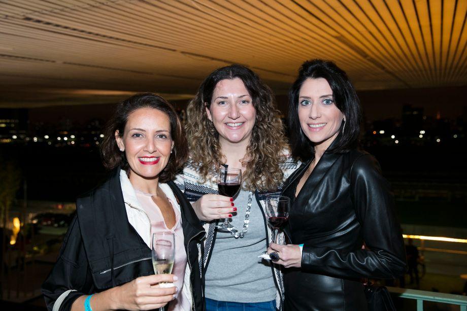 Larissa Toledo, Fernanda Nasser e Juliana Ramacciotti