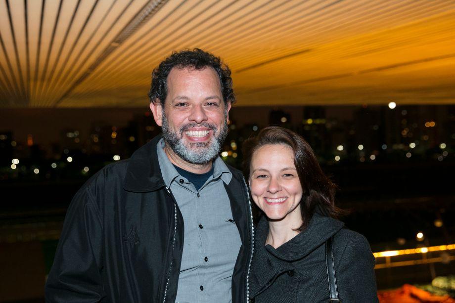 Ricardo Baddini e Patricia Lima