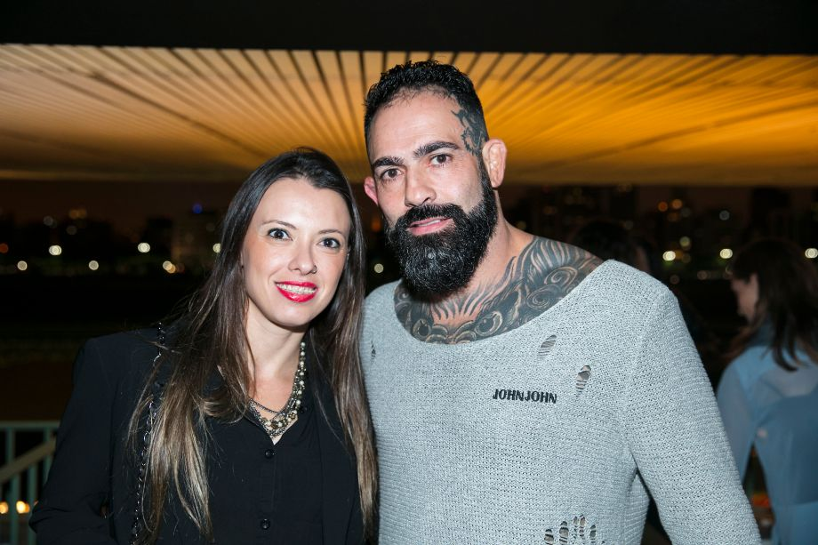 Gabriela Desiderio e Pedro Jordano