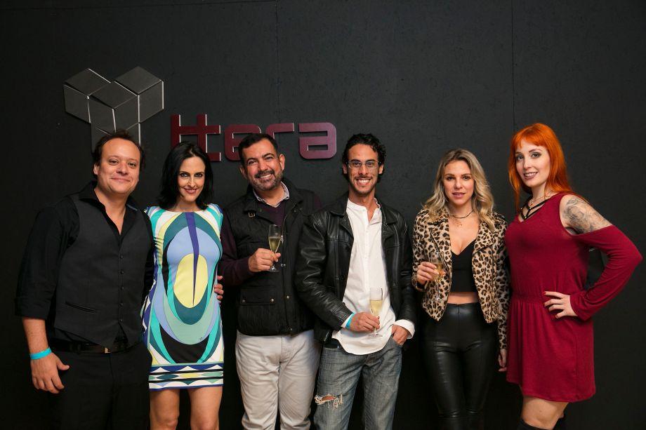 Felipe Putz, Ana Flora Murano, Allan Malouf, Pedro Caribé, Viviany Toschi e Sabrina Dallas