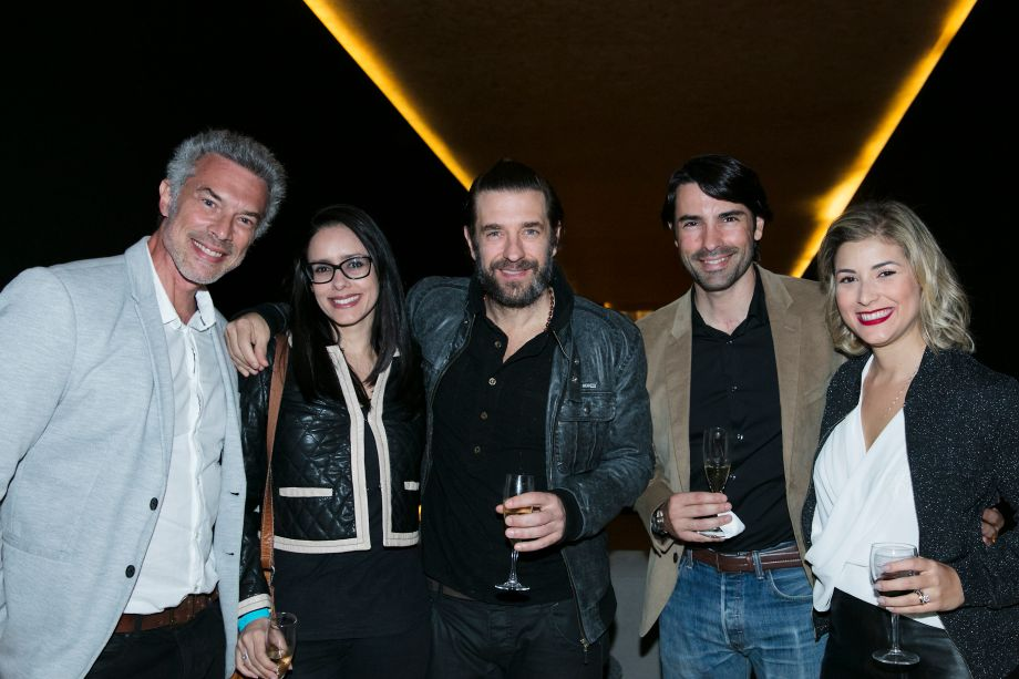Paulo Carotini, Erika Vraga, Alexandre Bartos, Andre Coelho e Thais Petinelli