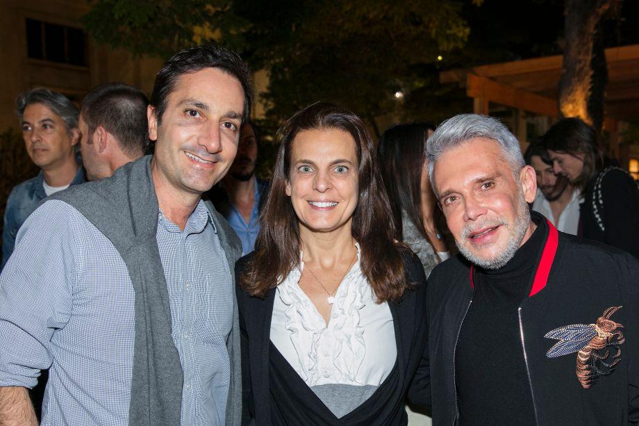 Fred Benedetti, Fernanda Abs e Leo Shehtman
