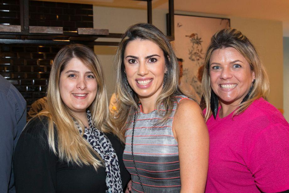 Jéssica Adan, Graziella Castanheira e Giselle Martos