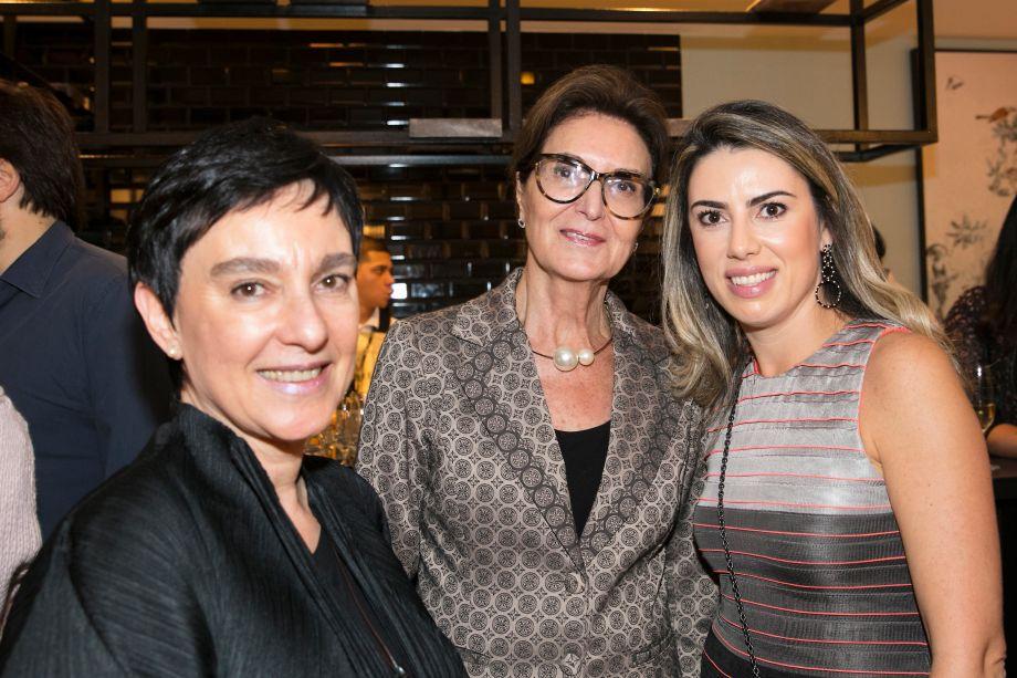 Livia Pedreira, Cristina Ferraz e Graziella Castanheira