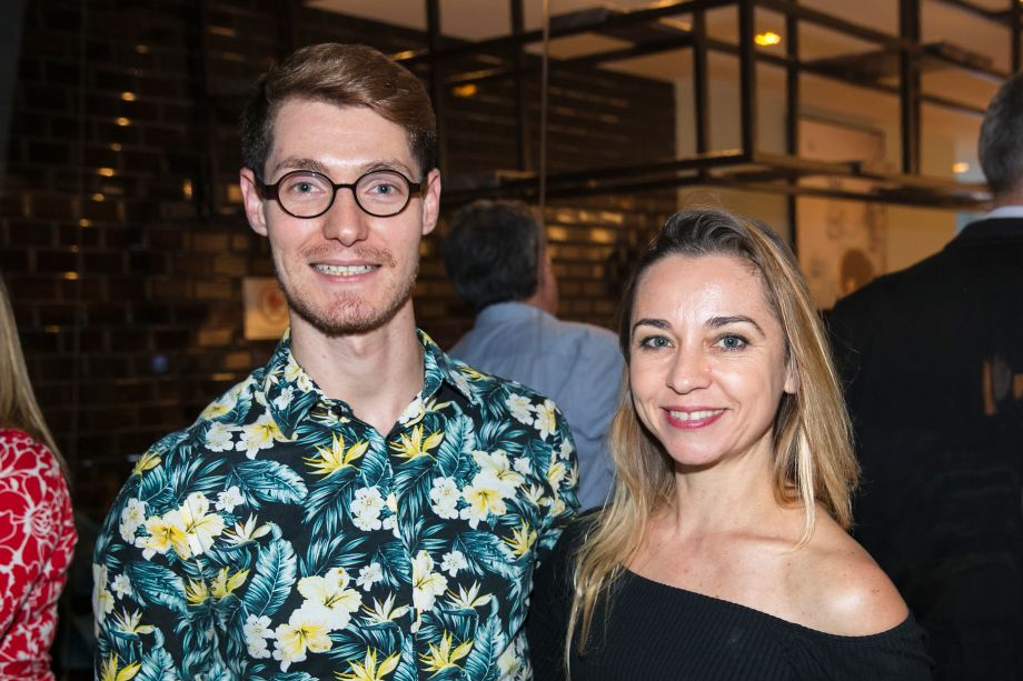 Guilherme Longo e Marcia Carini