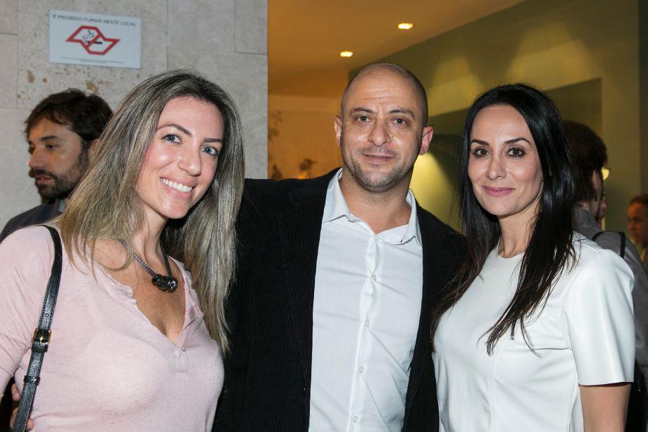 Carol Nicolini, Tati Pedtini e Marcio Macca