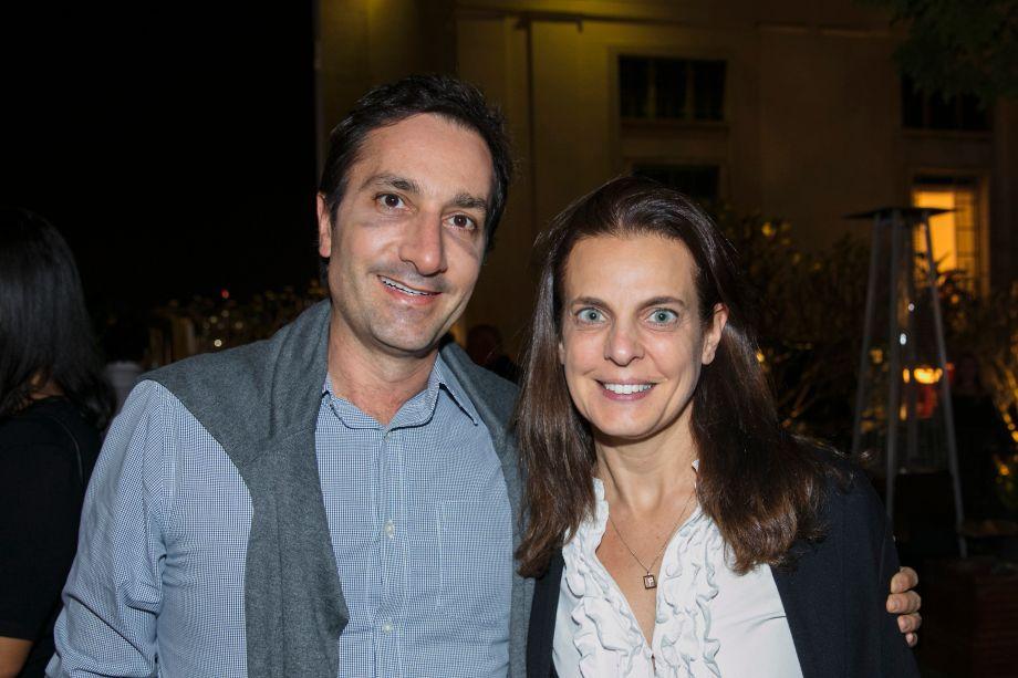 Fred Benedetti e Fernanda Abs