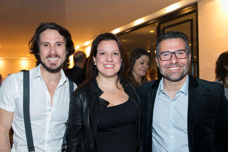 Ivo Feliciano, Andrea Teixeira e Mario Rudge
