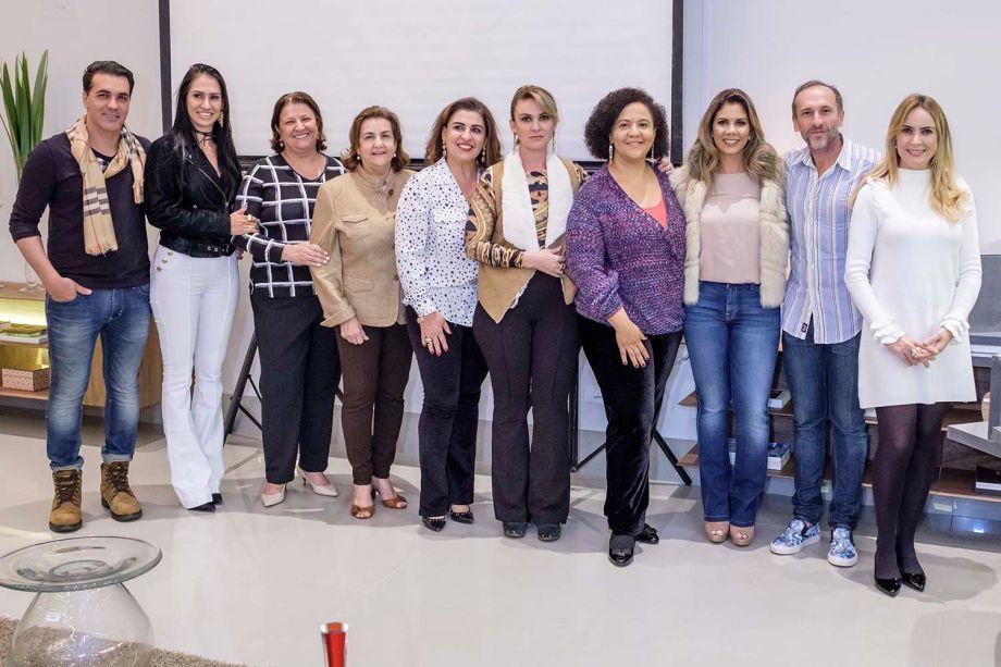 Parceiros e realizadores do lançamento do livro em Campo Grande
