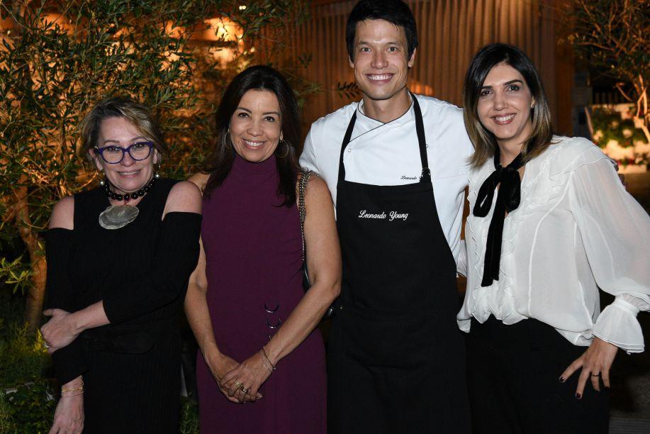 Ednara Braga, Eliane Martins, Leo Young e Anna Paula Melo