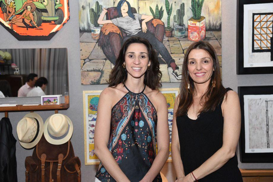 Graziela De Caroli e Cristina Bava