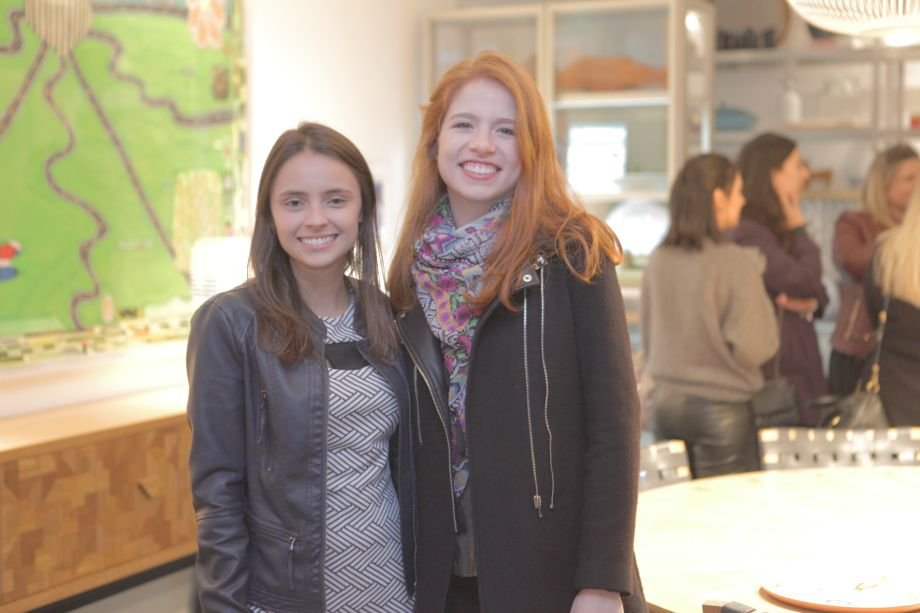 <span>Michelle Pinhatari e Sara Sisson, franqueadas iGUi</span>