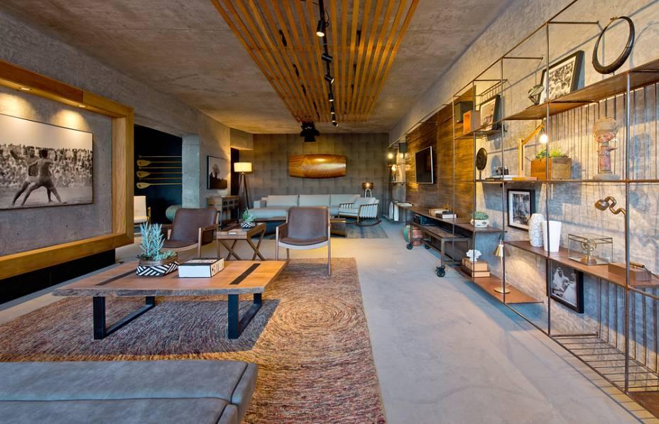 """Melhor """"Ambiente Conceito"""" - Lounge Al Mare assinado por Ana Lins e André Bettinelli"""