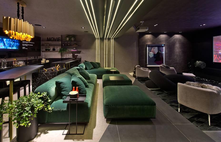 O melhor ambiente escolhido pelo público - Movie Lounge por Eluize Mendes e Maria Ondina Garcia