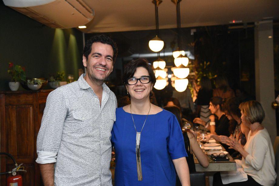 <div>André Brandão e Marcia Varizo</div>