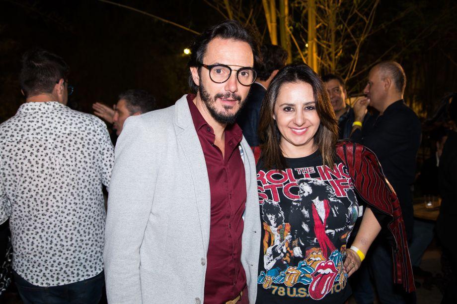 Ricardo Pessuto e Patrícia Genovezi