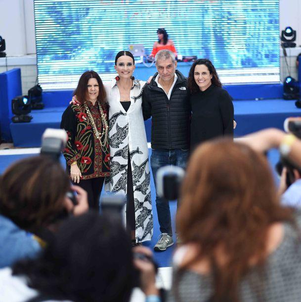 Vanda Klabin, Andrea Natal, José Bechara e Maritza Caneca