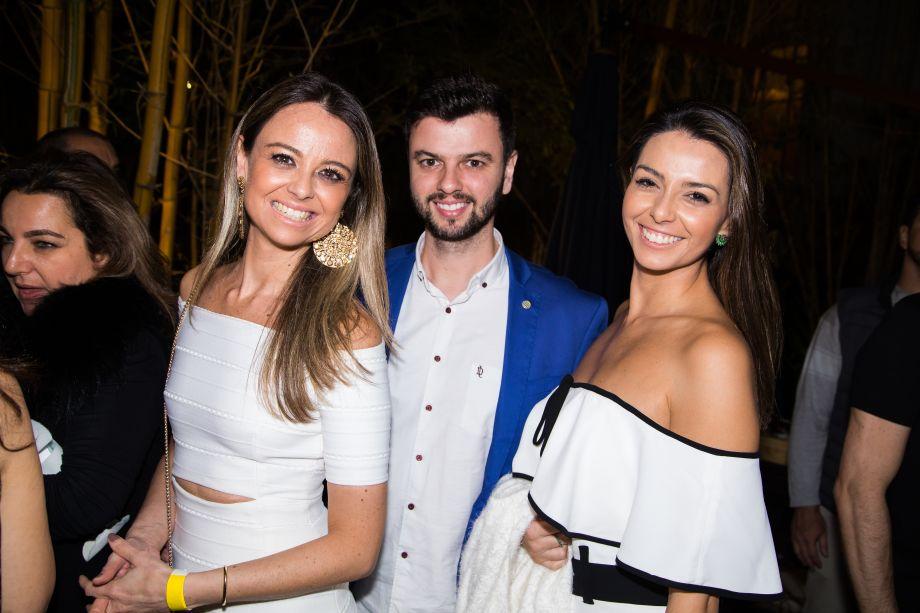 Laura Maciel, Leandro Maciel e Lídia Maciel
