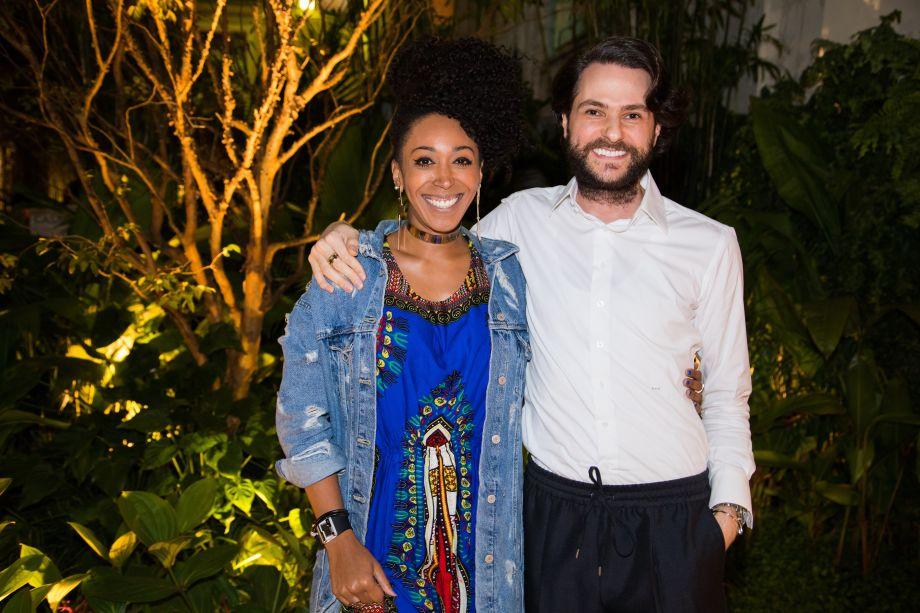 Priscila Martins e Michel Safatle