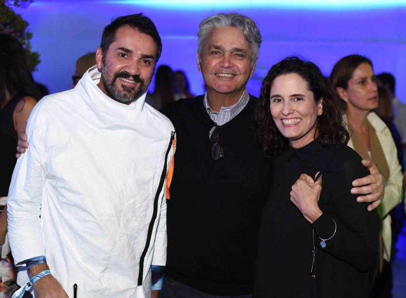 Beto Silva, Pedro Paranagua e Maritza Caneca
