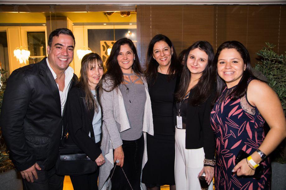 Cadu Torres, Bia Mortari, Mônica Pezato, Cleide Gomes, Carla Delgado e Raquel Carvalho