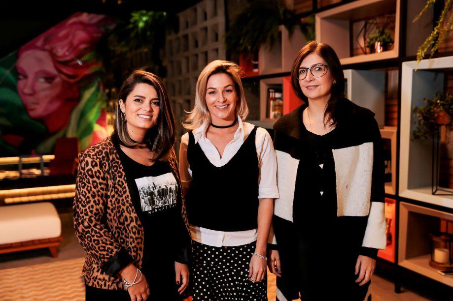 Camila Pigatto, Fernanda Salü e Laura Tavares