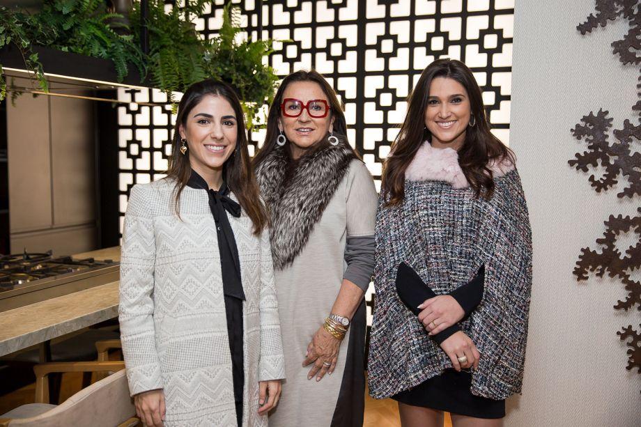 Camila Sanguiné, Heloisa Boccorny e Juliana Carvalho