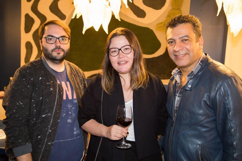 Aldi Flosi, Paloma Yamagata e Pedro Ariel