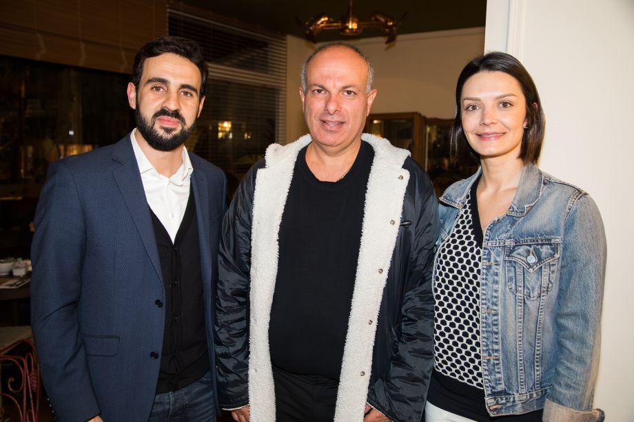 Dhaian Miranda, Ali Majzoub e Ana Leaes
