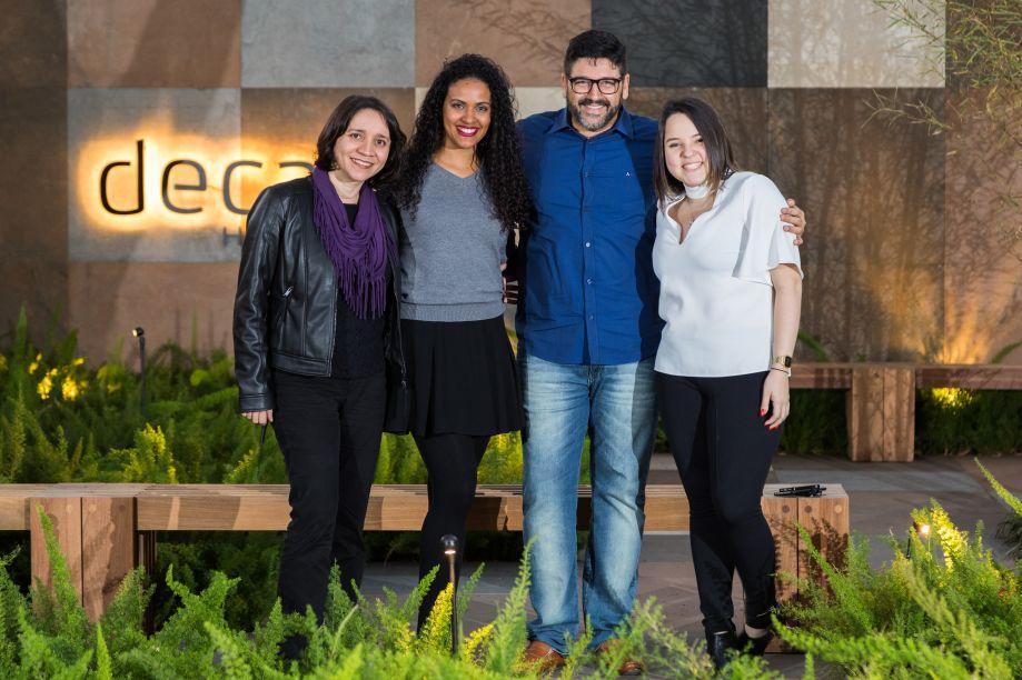 Viviane Braga, Cleice Maria, Darlan Firmato e Gabriela Coutinho