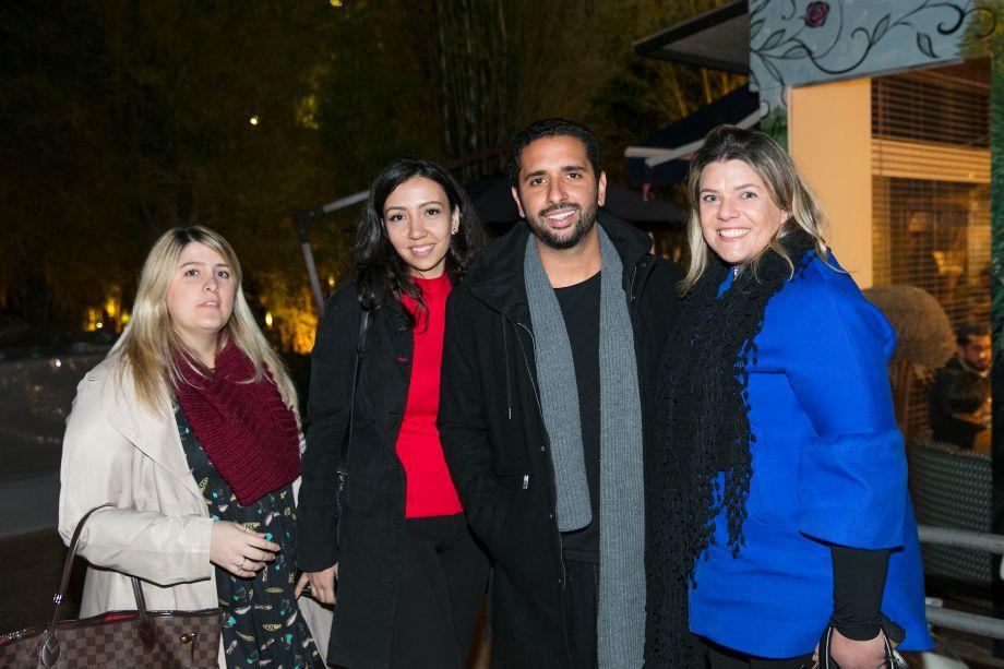 Jéssica Adam, Natália Candelária, Gabriel Wickbold e Giselle Martos