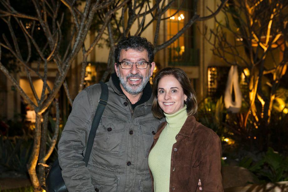 Mario Castello e Helen Martins