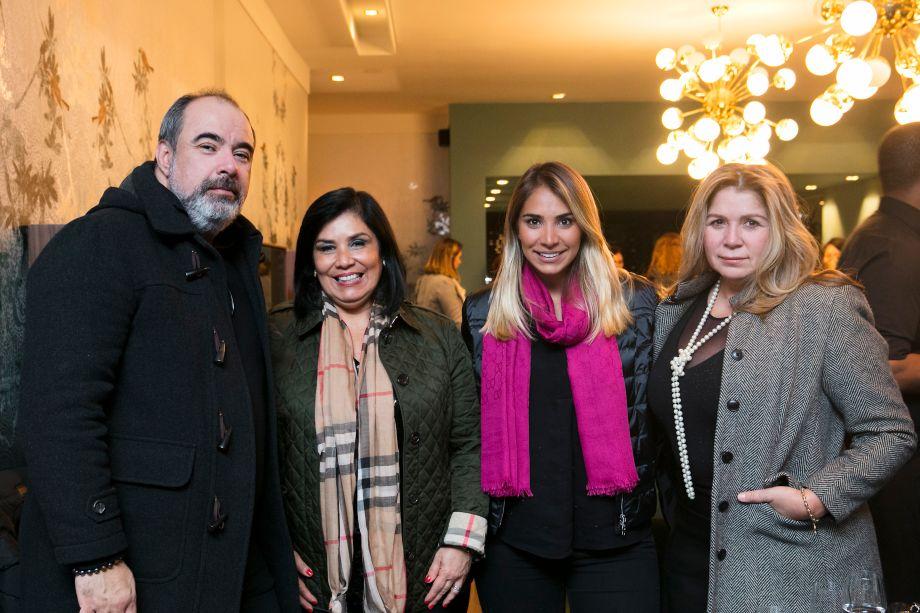 Fernando Santos, Fernanda Dunelli, Fran Angelim e Patrícia Hagobian