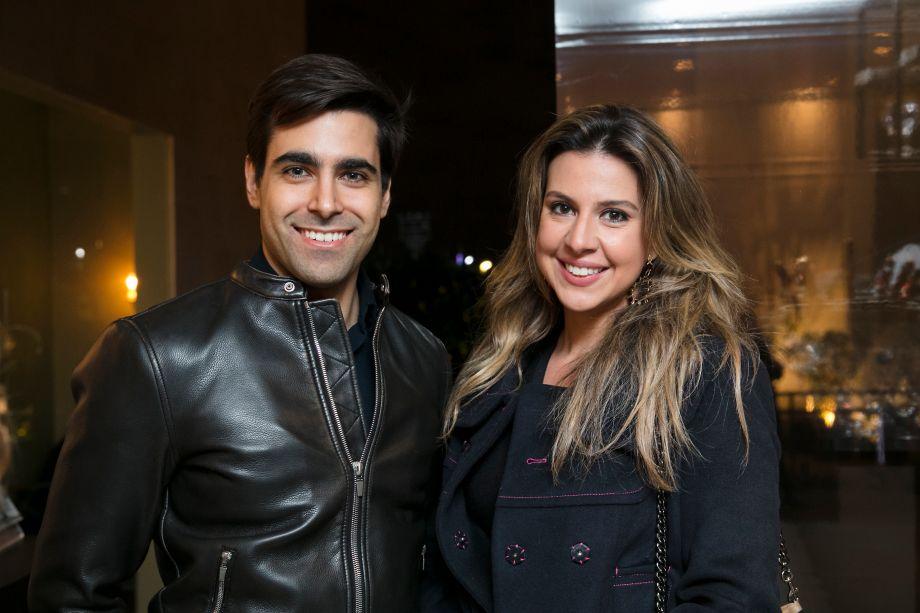 Alexandre Dal Fabbro e Bia Abreu