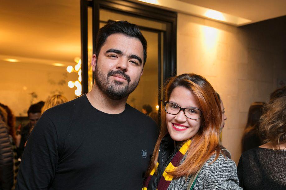 Alan Freitas e Paula Martins